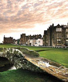 Swilken Bridge, Old Course - St. Andrews, Scotland