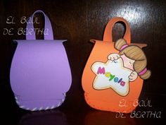 ✿.。.:* BERTHA MANUALIDADES  *.:。✿: Mochilitas BacK PacK ♥
