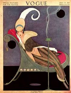 Vogue cover --- July 15, 1914