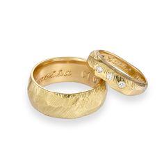 18ct yellow gold wedding rings.   Www.janicebyrnegoldsmith.com Gold Wedding Rings, Bespoke, My Design, Engagement Rings, Yellow, Jewelry, Taylormade, Enagement Rings, Wedding Rings