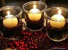 The warmth of the candle will heat the coffee beans and make any room smell amazing! Yum!