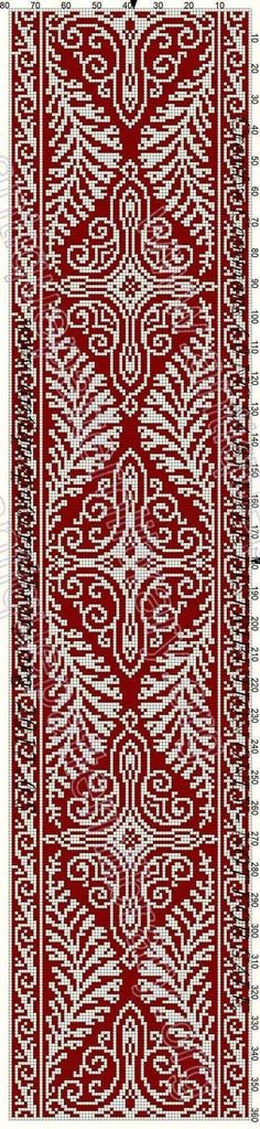 This Pin was discovered by Şey Cross Stitch Borders, Cross Stitch Flowers, Cross Stitch Designs, Cross Stitching, Cross Stitch Embroidery, Cross Stitch Patterns, Filet Crochet Charts, Crochet Diagram, Knitting Charts