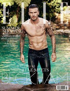 The Selfiess - Elle-Magazine-Cover-July-2012-david-beckham - Rahasia Fotografer Majalah