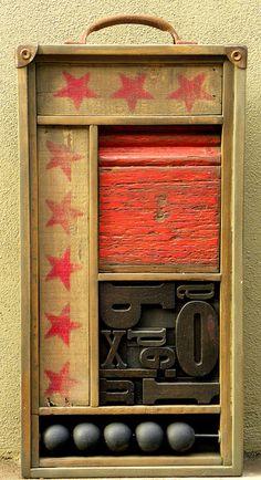 """TRELLA.de la serie """"obras portatiles"""" by federico hurtado 2011, via Flickr"""