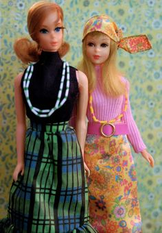 Vintage Talking Barbie and Twist n' Turn Francie