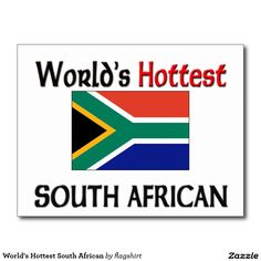 World's Hottest South African Postcard
