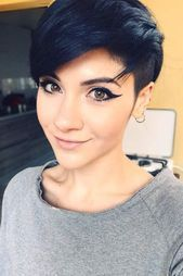 Today we have the most stylish 86 Cute Short Pixie Haircuts. We claim that you have never seen such elegant and eye-catching short hairstyles before. Pixie haircut, of course, offers a lot of options for the hair of the ladies'… Continue Reading → Pixie With Undercut, Asymmetrical Pixie Haircut, Pixie Cut With Bangs, Short Pixie Haircuts, Edgy Pixie, Short Hair Cuts, Pixie Cut Round Face, Undercut Hairstyles, Pixie Hairstyles