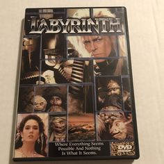 Labyrinth • Preowned • Case • Insert | DVDs & Movies, DVDs & Blu-ray Discs | eBay!