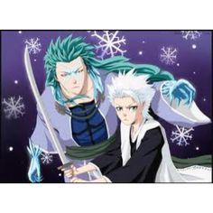 Toshiro Hitsugaya with Hyoinmaru, Bleach That is not how you hold a sword.