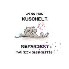 ☺️ Wenn man #kuschelt , #repariert man sich #gegenseitig !  ...für mehr #kuscheln   Genießt alle schön den rest vom S☀️nntag☔️  #chilln #kreativ #spruch #sprüche #spruchdestages  #pokamax