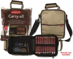 Make your pencil collection portable with Derwent Carry All, the best bag for carrying around pencils and acessories that money can buy. Carries up to 132 pencils, in stock now for quick dispatch. Derwent Pencils, Gadget Gifts, Best Bags, Art Supplies, Carry On, Shoulder Strap, Canvas, Stuff To Buy, Accessories