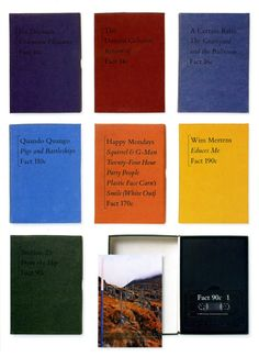 Factory Records special editioncassettes, designed by Peter Saville