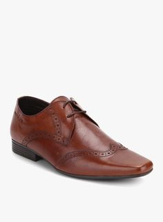 Buy Red Tape Brown Brogue Formal Shoes for Men Online India, Best Prices,  Reviews
