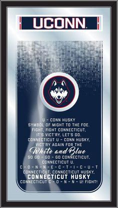 UConn Huskies Fight Song Mirror