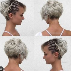 """2,473 Likes, 84 Comments - Short Hairstyles Pixie Cut (@nothingbutpixies) on Instagram: """"@rachelchapogas done by @hairbyelena"""""""