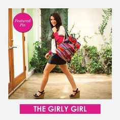 Are you The Girly Girl this year? Featured Pin! #KiplingSweeps