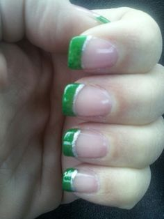 Me Irish nails :-)