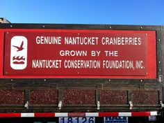 Make sure to check out the home grown Cranberries on Nantucket the next time you are here to visit..