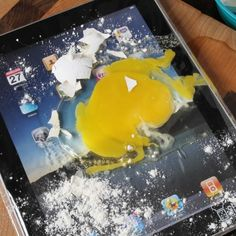 As the iPad has become my regular companion in the kitchen, I give the Chef Sleeve my two thumbs up! Slide your iPad in it and voila, it is protected from spills and greasy fingers.