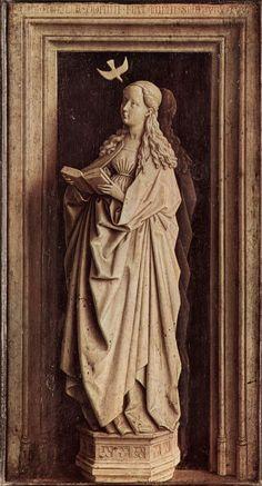 Jan van Eyck, Annunciation