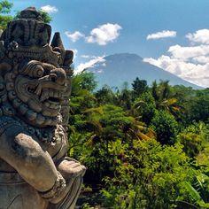 Bali volcano Photo by michaeldunker • Instagram