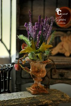 In the Court of the Gypsies (jt-also a tutorial - make your own lavender. Just follow the link!)