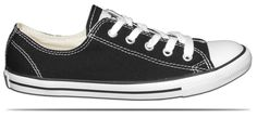 Converse® All Stars® Chuck Taylor® Dainty.  They are made specifically for women.  Available in black or pink