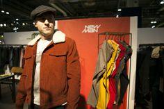 Blouson en velours New Man #look #homme #menswear #blouson #coat #velours #newman #commeuncamion