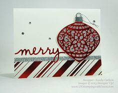 Stampin' Up! Embellished Ornaments Samples