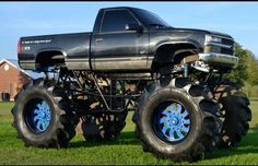 Chevy Mega Mud Truck