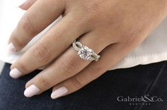 Give her a diamond she will cherish forever! #GabrielNy #Diamond #Marriage #Proposal