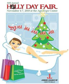 2010 Junior League of Fayetteville Holly Day Fair (logo)