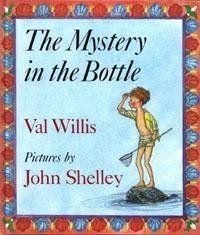 The Mystery in the Bottle by Val Willis et al., http://www.amazon.co.uk/dp/0374351945/ref=cm_sw_r_pi_dp_Tn3jtb1Q60ZM9