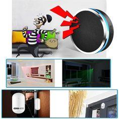 Home Security Alarm System, Smart Home Security, Smartphone, Home Surveillance, App Control, Diy Kits, Home Improvement, Amazon, Life