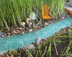 Fairy Garden Hammock Miniature Faery Garden by FairyElements