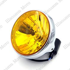 """(63.99$)  Buy here - http://aifp1.worlditems.win/all/product.php?id=32736793877 - """"7"""""""" CHROME H4 Cafe Racer Scrambler Vintage Motorcycle Head Light Decorative Lights Lighting for YAMAHA HONDA HARLEY Free Shipping"""""""