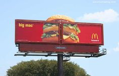 28 Deliciously Creative Ads from McDonald's Guerilla Marketing Photo Guerilla Marketing, Marketing Viral, Guerrilla Advertising, Street Marketing, Creative Advertising, Advertising Poster, Advertising Design, Online Marketing, Out Of Home Advertising