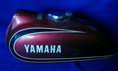 Yamaha Gas Tank 1973 100 Enduro | eBay
