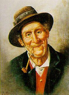 Neapolitan Peasant -- by Ettore Tito (Italian, 1859–1941)