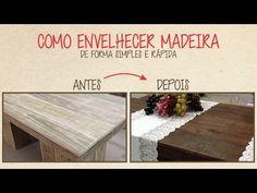 Como Envelhecer Madeira - YouTube