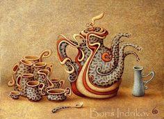 | Arte Surreal de Boris Indrikov