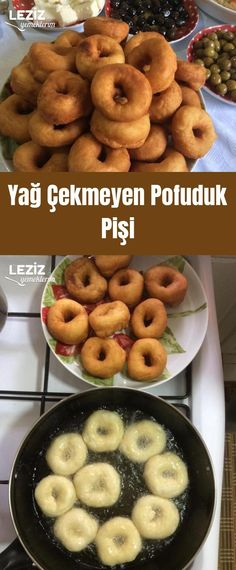 Fat-Free Fluffy Bagel - My Delicious Food - Pancake Recipes Perfect Pancake Recipe, Pastry Recipes, Pancake Recipes, Herd, Turkish Recipes, Bagel, Cooker, Brunch, Yummy Food
