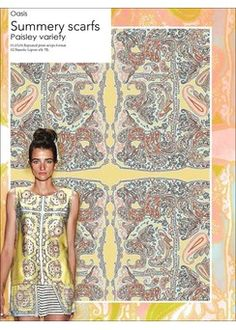 S/S 16 Prints and Patterns Fashion Colours, Colorful Fashion, Love Fashion, Fashion Trends, Trend Forecast 2018, Summer 2016 Trends, Design Textile, Trend Fabrics, Fashion Forecasting