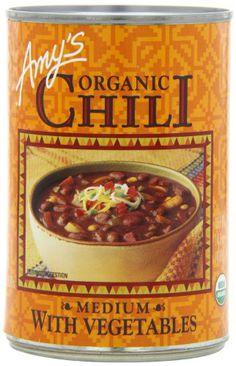 Amy's Organic - Medium Chili With Vegetables, 14.7 Ounce