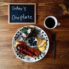 北欧食器ARABIAの【ブラックパラティッシ】でワンプレートとテーブルコーディネートまとめ♡ | folk