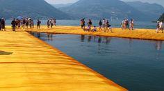 Nur noch für kurze Zeit: Spaziere auf den 'Floating Piers' über den Iseosee! 3 Tage auf Monte Isola im Luxus-Apartment für bis zu 7 Personen ab 83 € - Urlaubsheld | Dein Urlaubsportal