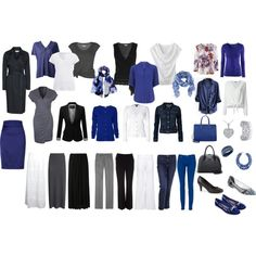 2015 Business Casual Capsule Wardrobe by regmize on Polyvore featuring Benetton, Dorothy Perkins, Merona, MANGO, Oscar de la Renta, Nougat, Lija, H&M, MARC BY MARC JACOBS and Majestic Filatures