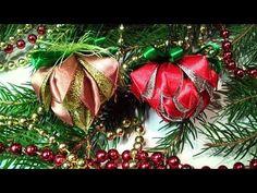 Игрушки на Елку канзаши, Новогодние Игрушки Своими Руками / DIY Christmas Crafts ideas - YouTube