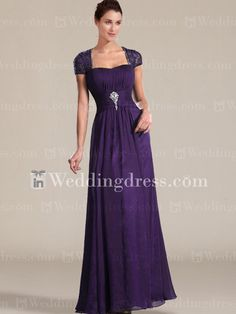 Best Mother of the Bride Dresses_Grape