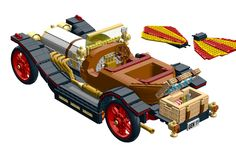 Lego Tv, Lego Creations, Movie Characters, Rear View, Lego Ideas, Bang Bang, Toys, Projects, Fun